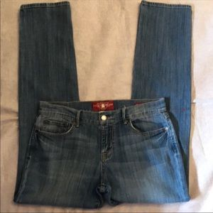Lucky Brand Midrise  lie Jeans size 8
